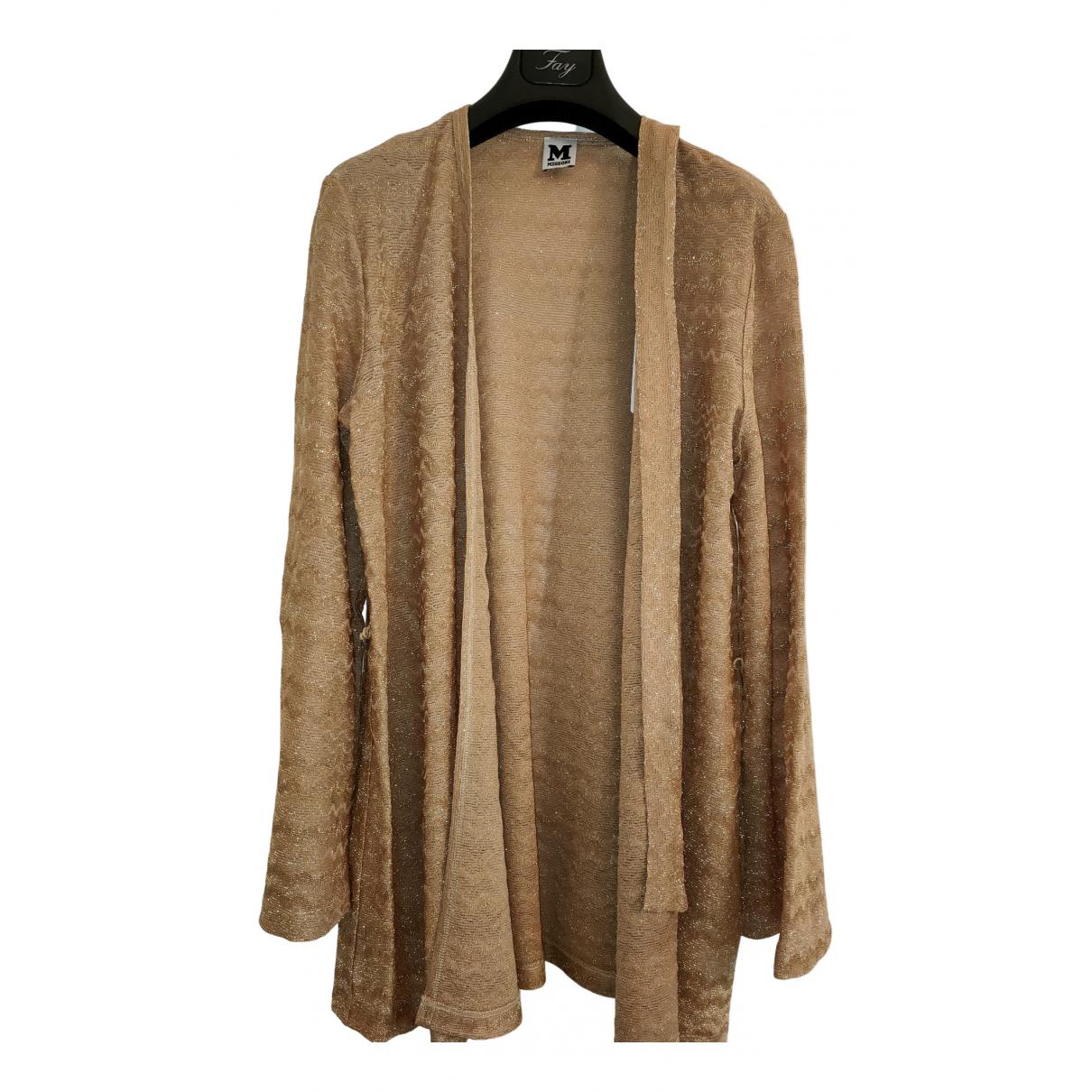 M Missoni \N Pullover in  Metallic Baumwolle