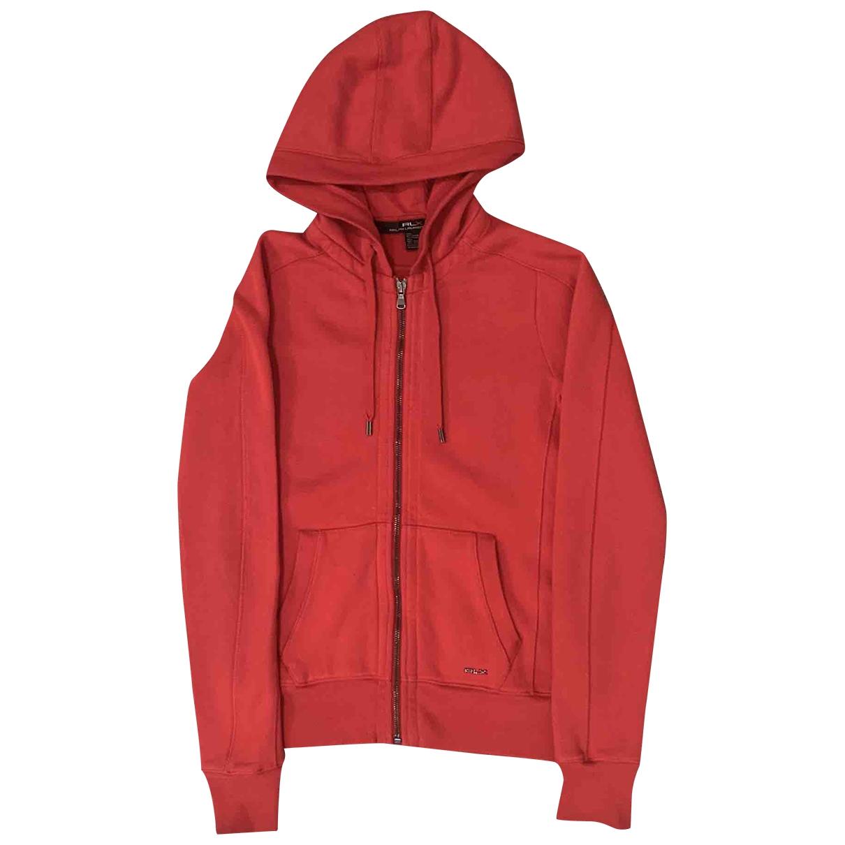 Ralph Lauren \N Pullover in  Rot Baumwolle
