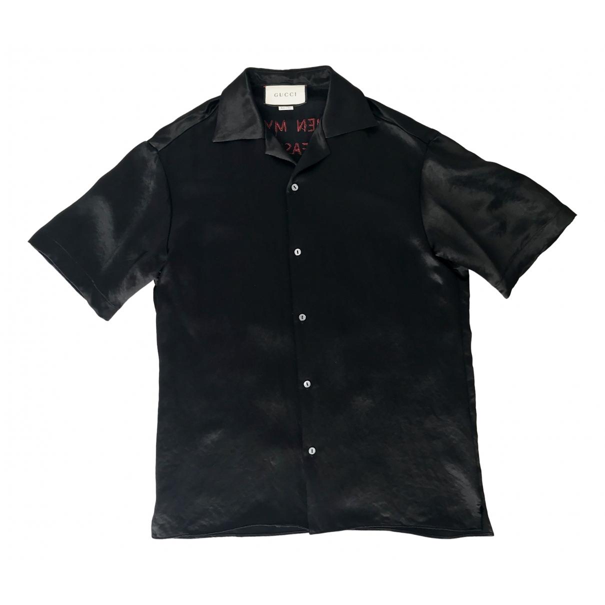 Gucci \N Black Shirts for Men M International