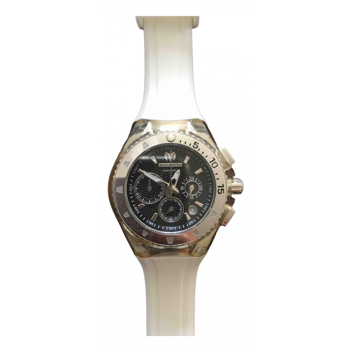 Technomarine, Geneve \N Uhr in  Schwarz Stahl