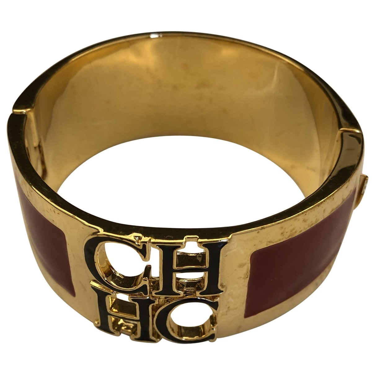 Carolina Herrera \N Red Gold plated bracelet for Women \N