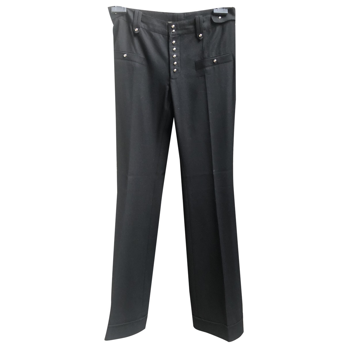 Balenciaga - Pantalon   pour femme en laine - noir