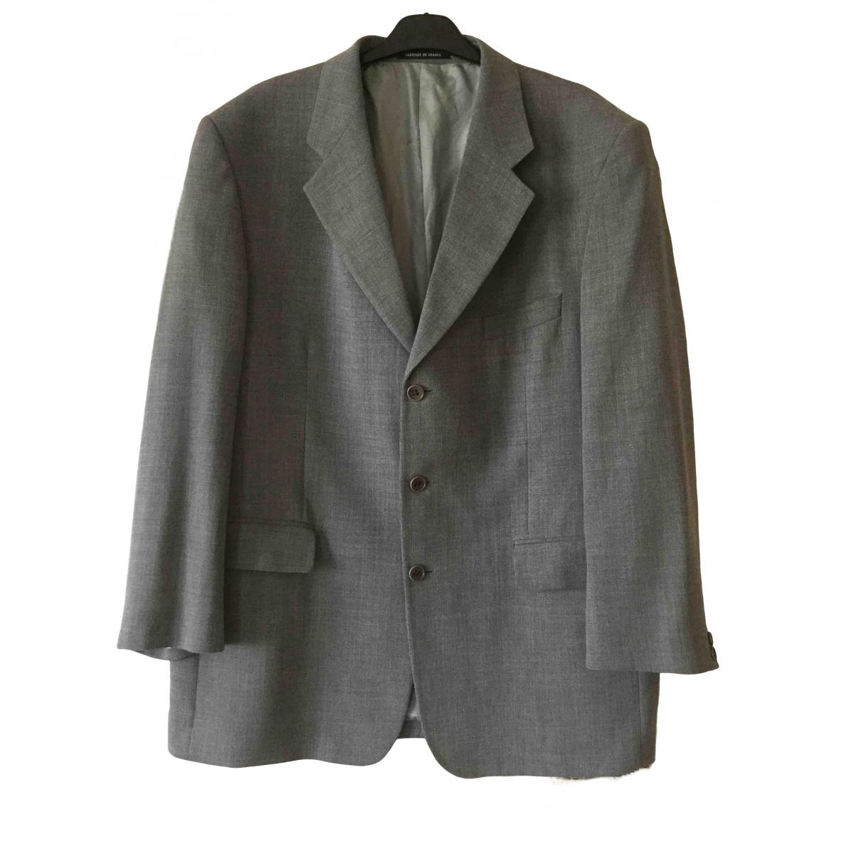 Yves Saint Laurent \N Grey Wool jacket  for Men XXL International