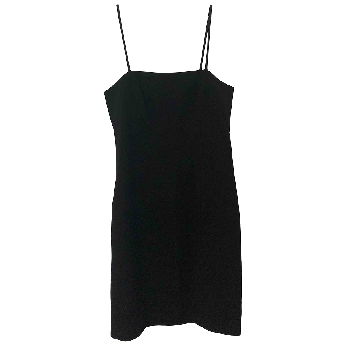 Gianfranco Ferré \N Black Cotton dress for Women 46 IT