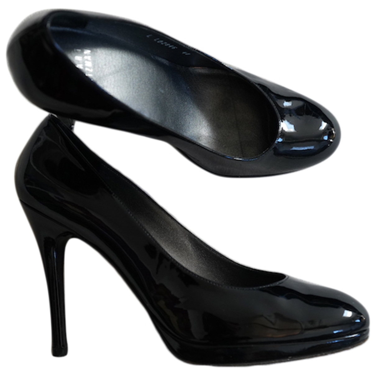Stuart Weitzman \N Black Patent leather Heels for Women 40 EU