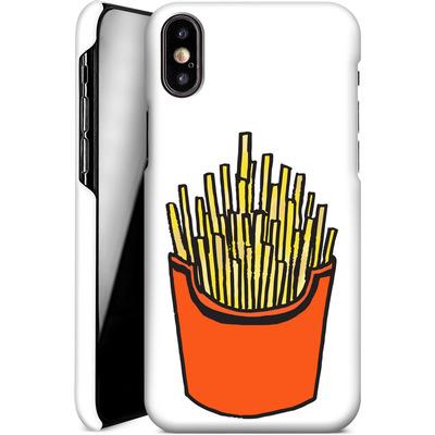Apple iPhone X Smartphone Huelle - Fries von caseable Designs