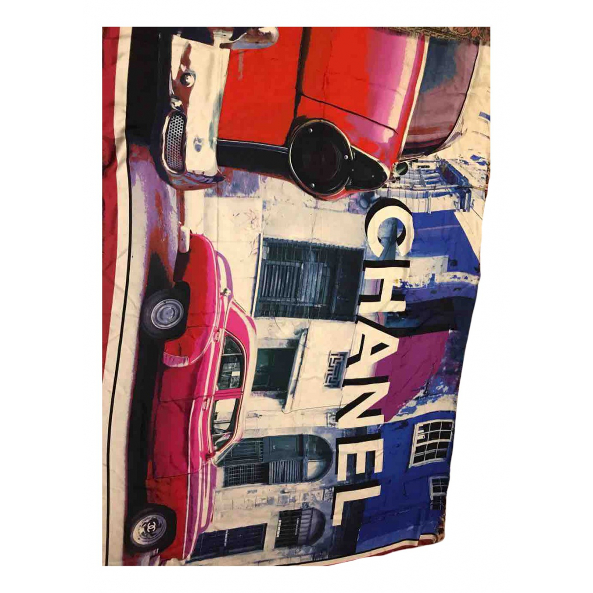 Chanel \N Schal in  Bunt Seide