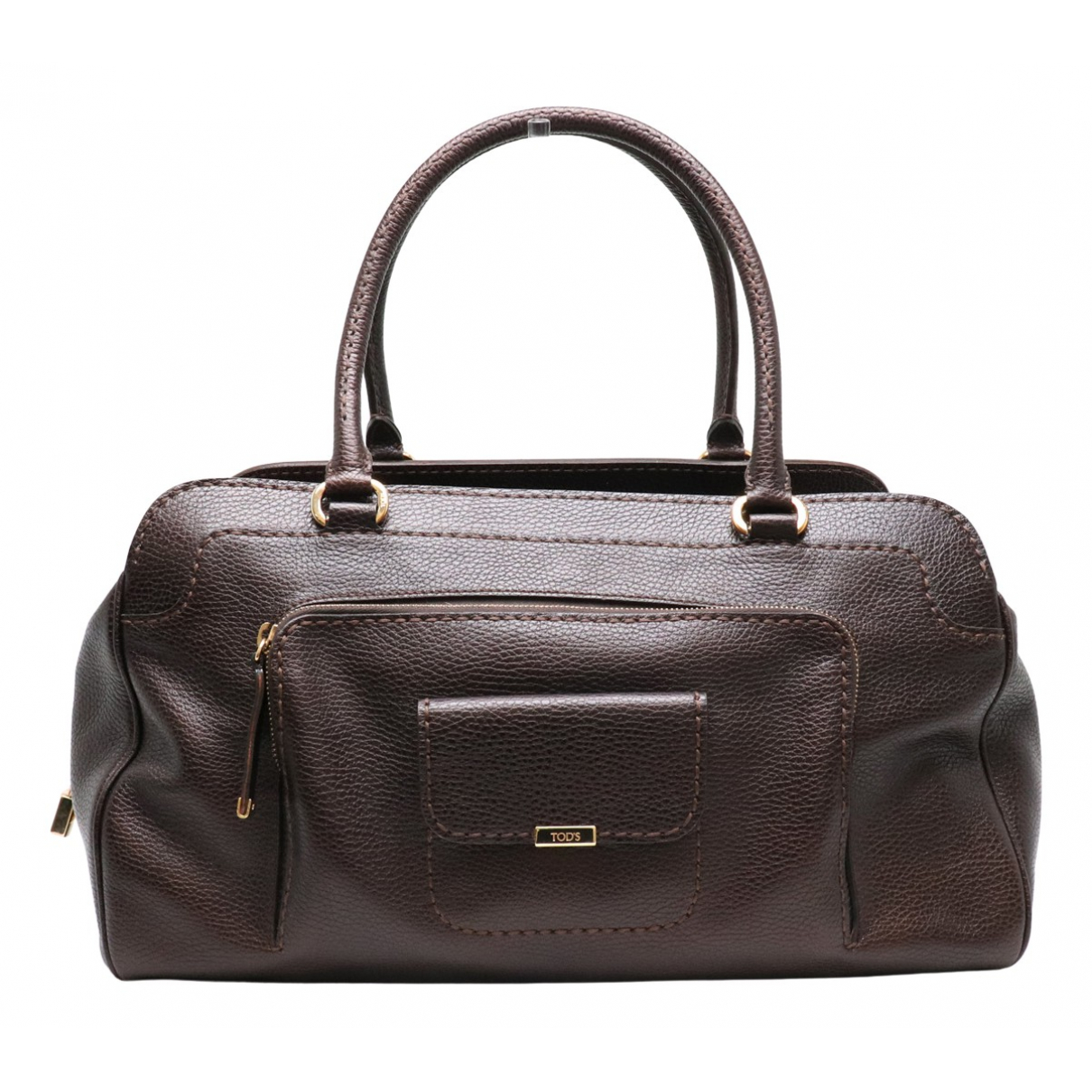 Tod's N Brown Leather Travel bag for Women N