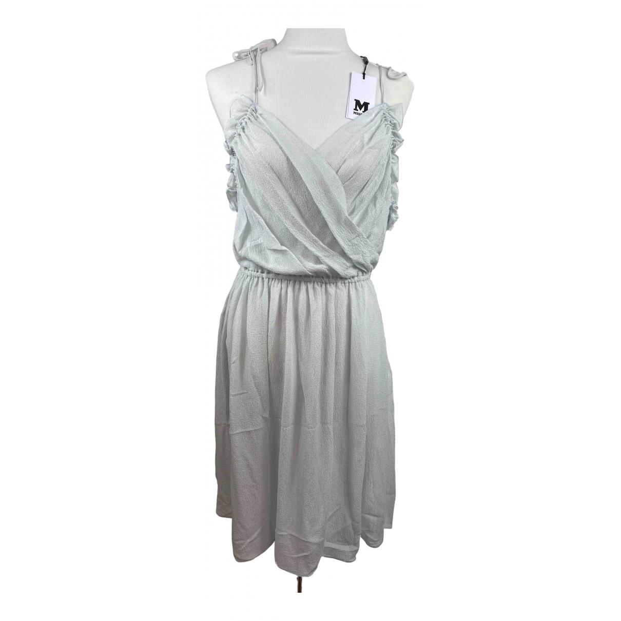 Missoni - Robe   pour femme en soie - bleu