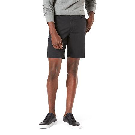 Dockers Mens Chino Short-Big and Tall, 50 , Black