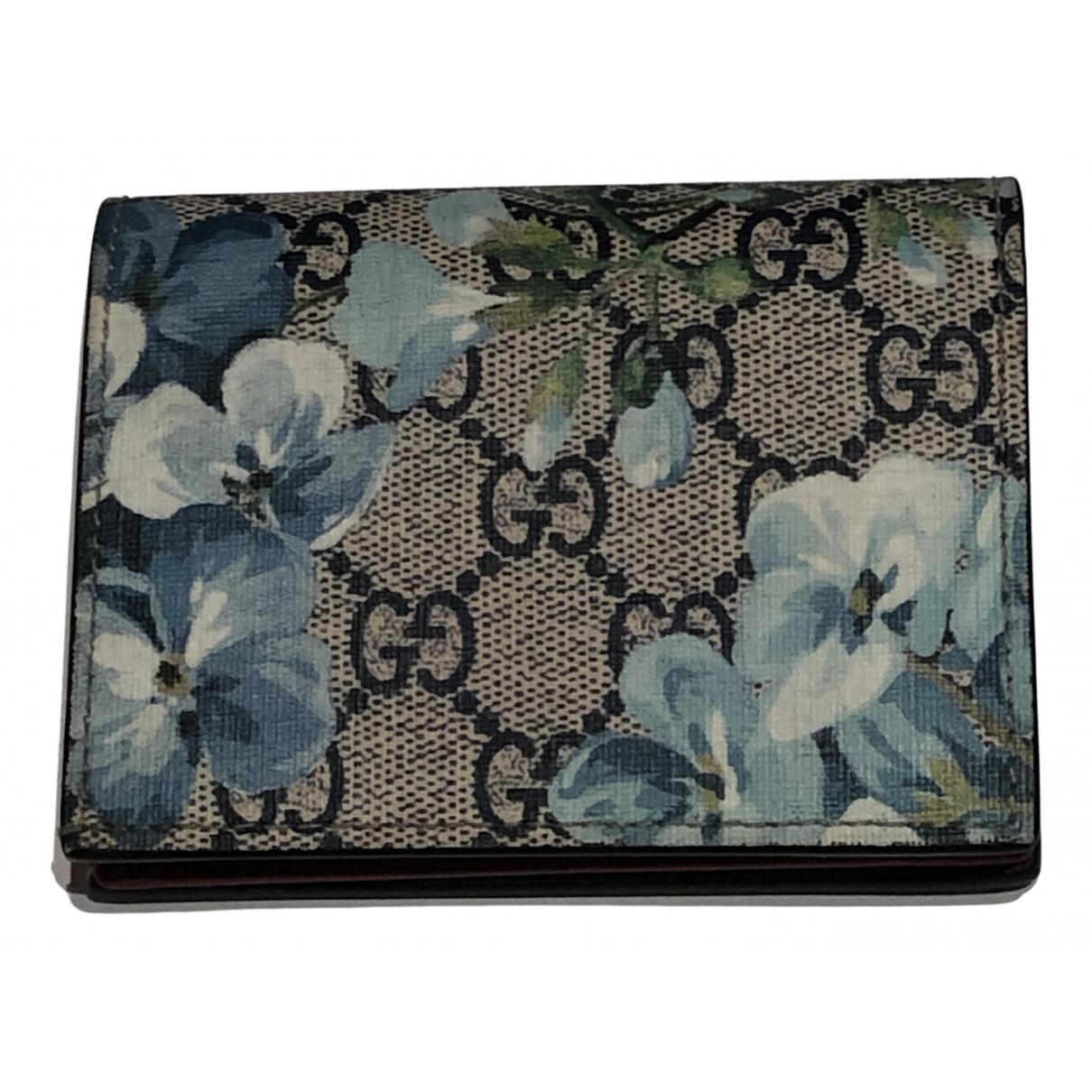 Gucci N Blue Cloth wallet for Women N