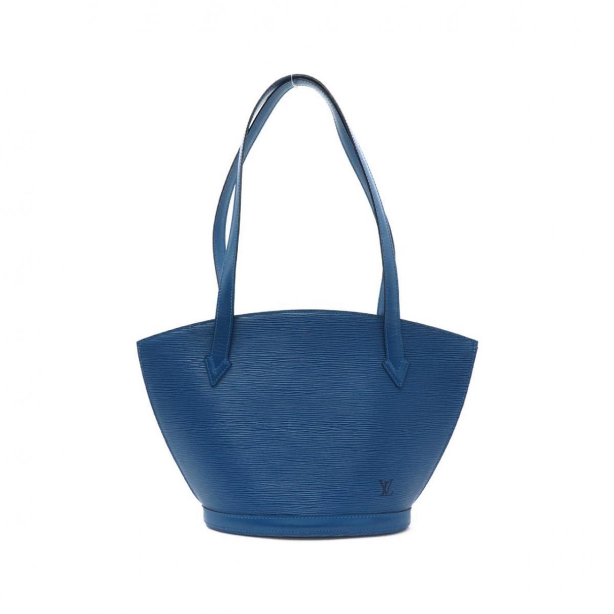 Louis Vuitton Saint Jacques Blue Cloth handbag for Women \N