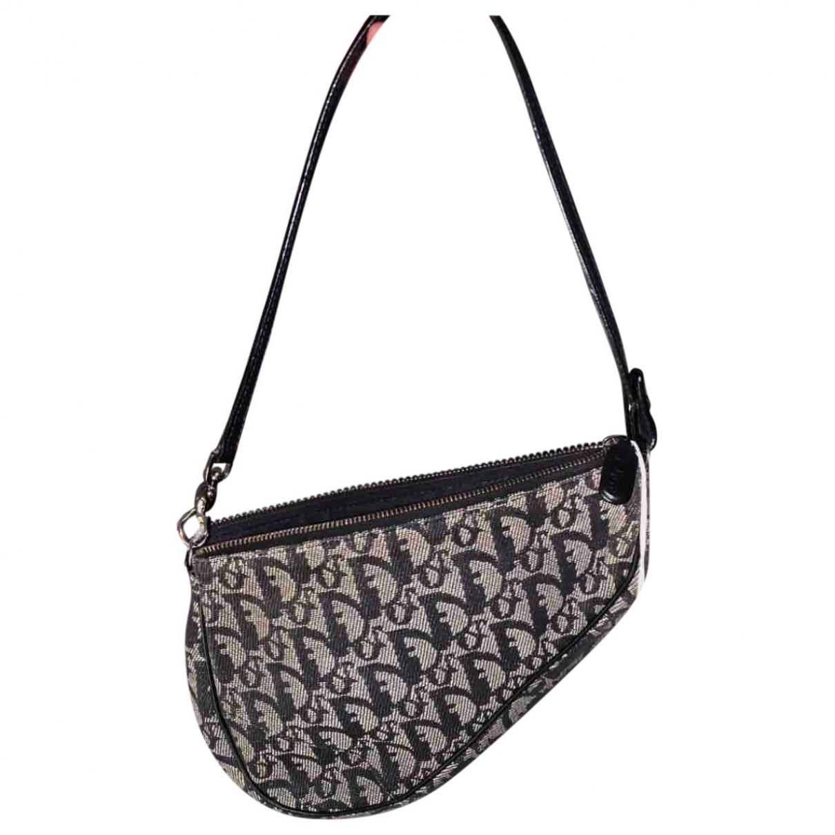 Dior Saddle Navy Cloth handbag for Women \N