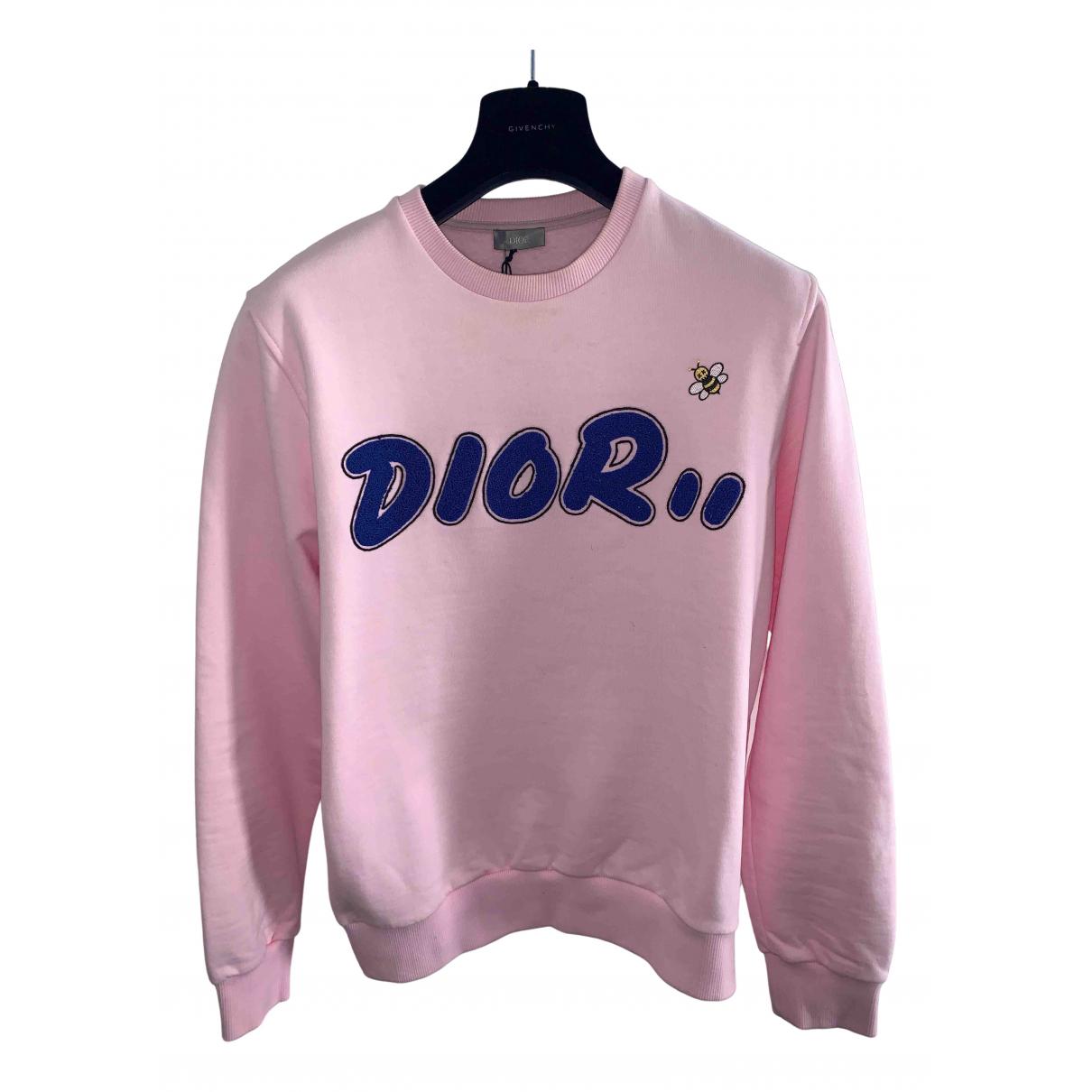Dior \N Pullover.Westen.Sweatshirts  in  Rosa Baumwolle