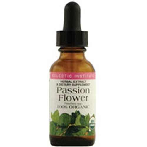 Passion Flower 1 Oz with Alcohol by Eclectic Institute Inc