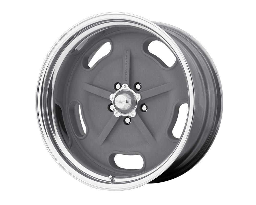American Racing VN470 Salt Flat Wheel 15x10 Blank +0mm Mag Gray Center Polished Barrel