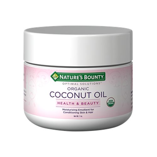 Optimal Solutions Coconut Oil 24 X 7 Oz by Nature's Bounty