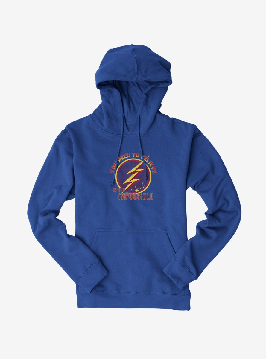DC Comics The Flash You Need To Believe In The Impossible Hoodie