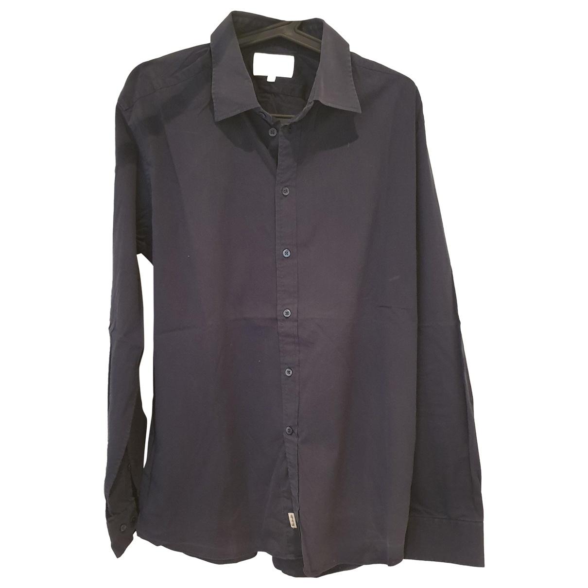 Faconnable \N Burgundy Cotton Shirts for Men XL International