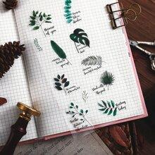 3sheets Plants & Flower Print Sticker