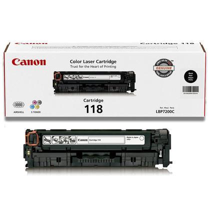 Canon 118 2662B001AA Original Black Toner Cartridge