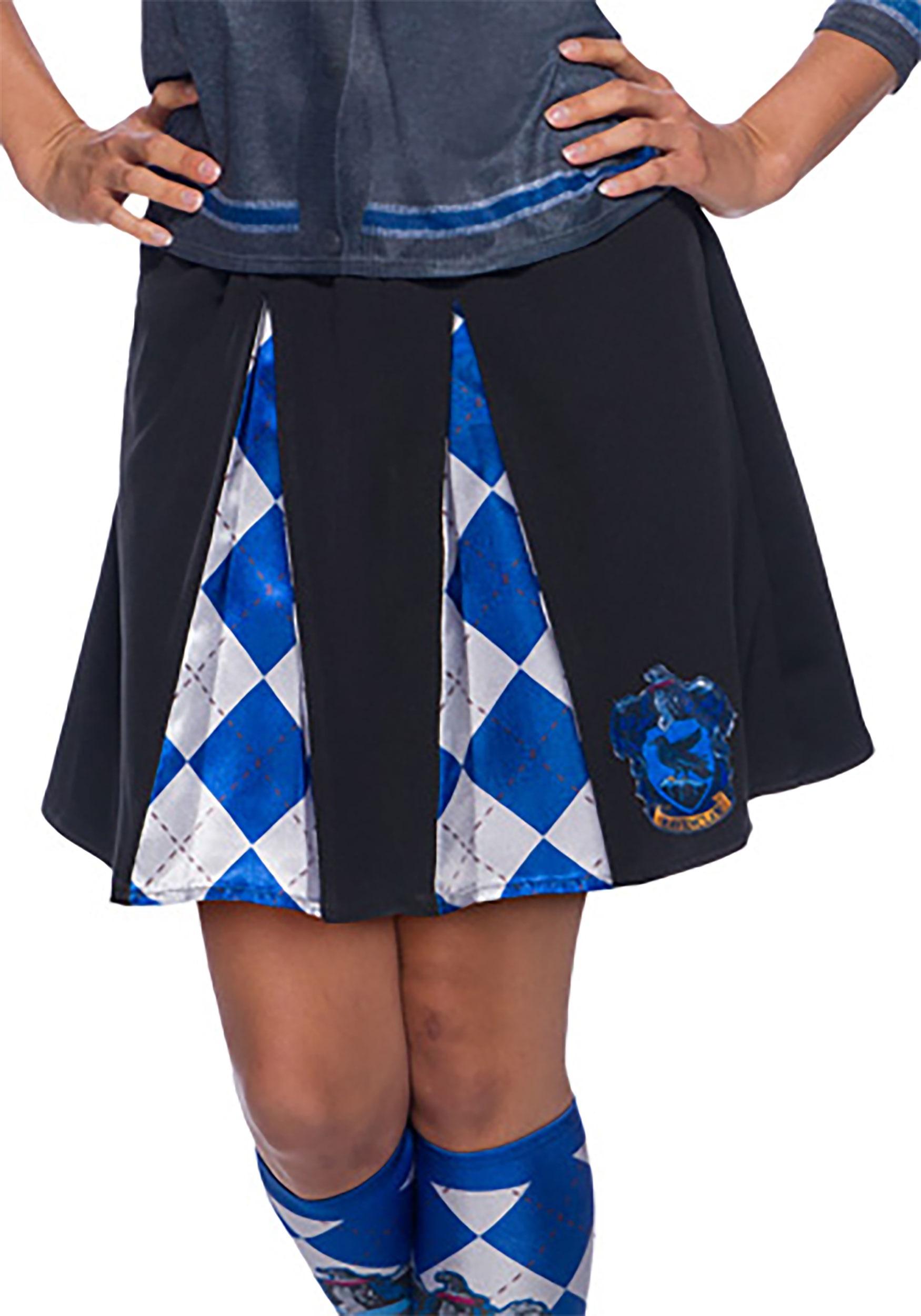 Adult Ravenclaw Skirt Harry Potter