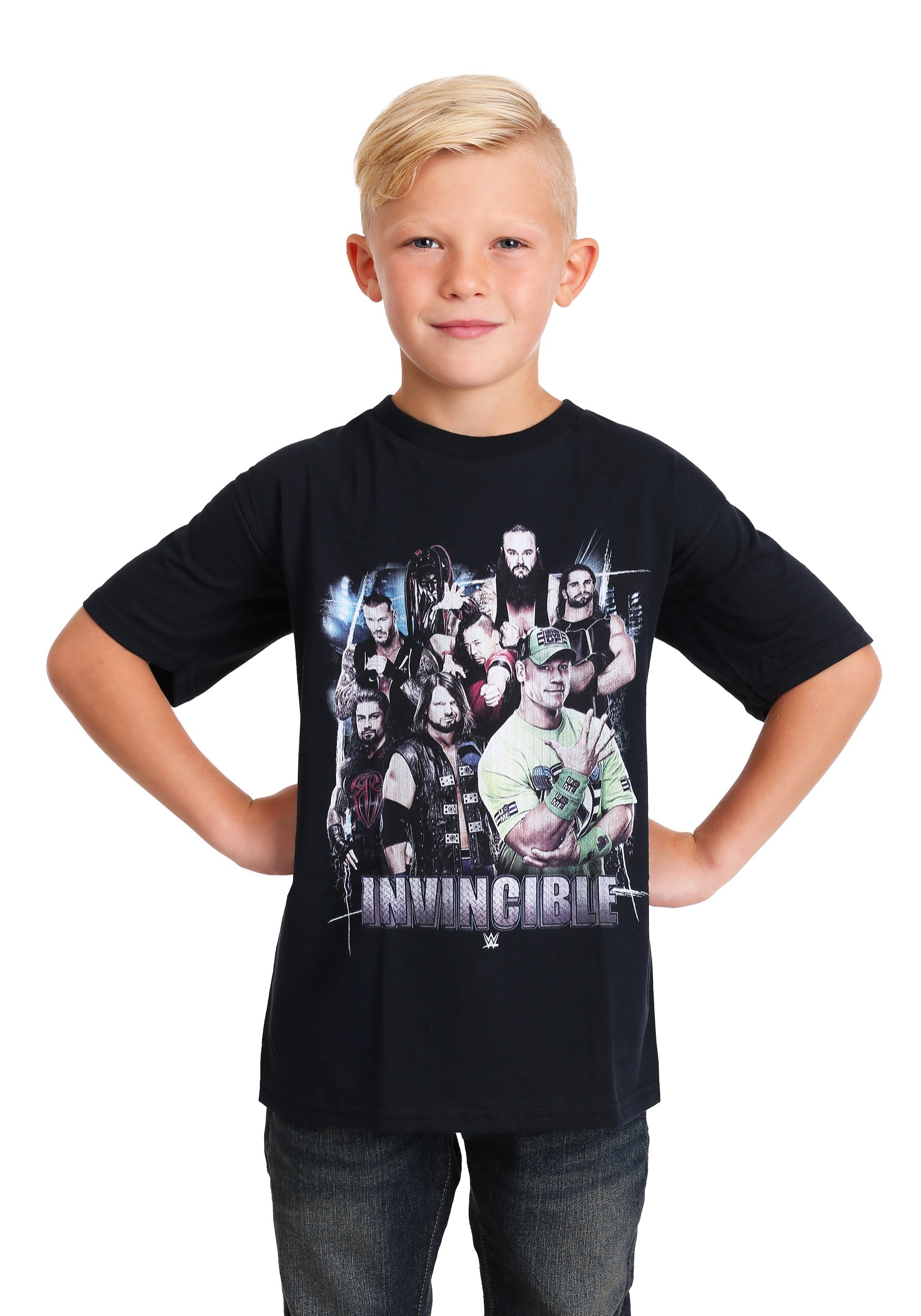 WWE Unleash the Awesome Boy's T-Shirt