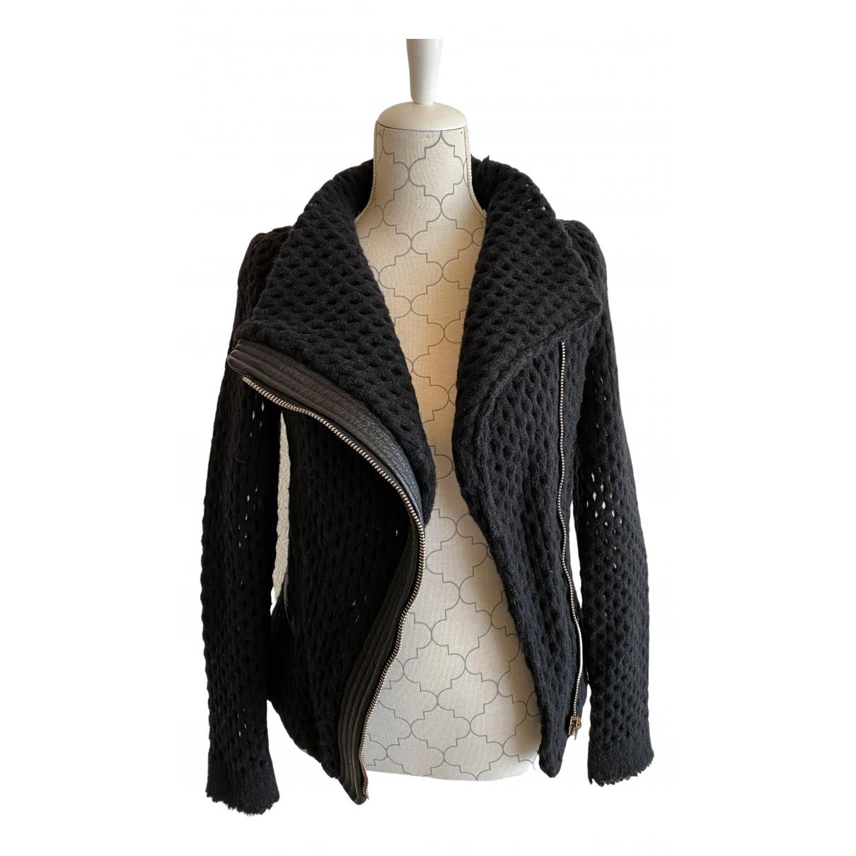 Iro - Pull   pour femme en laine - noir