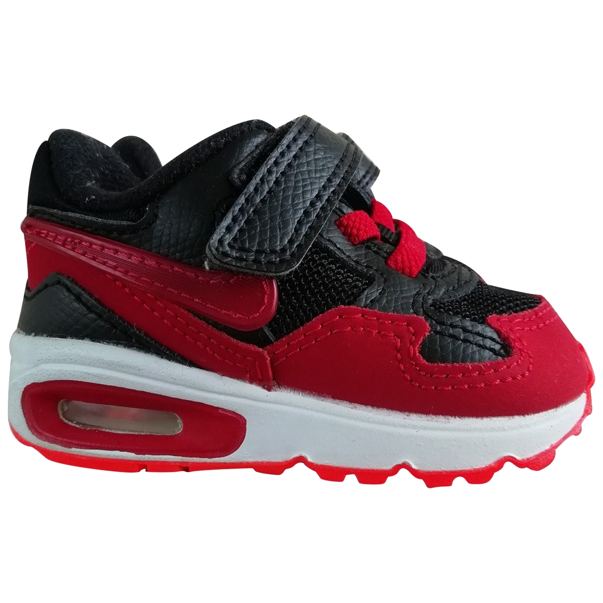 Nike Air Max  Red Rubber Trainers for Kids 18 EU