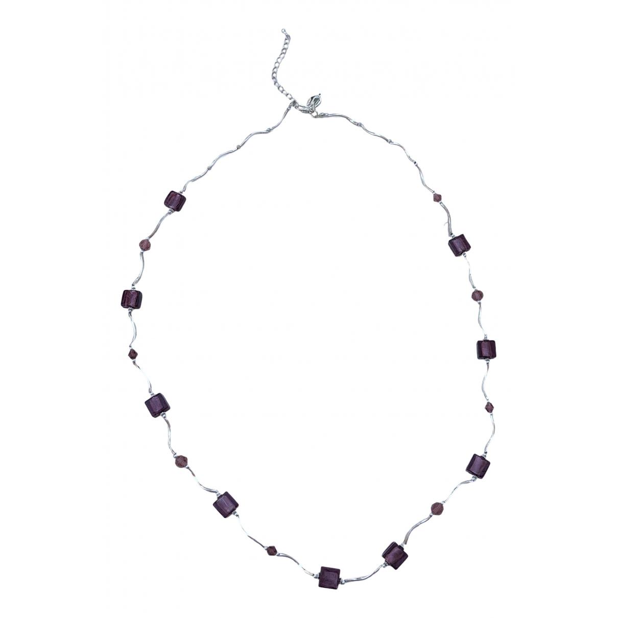 Collar largo Amethyste de Plata Non Signe / Unsigned