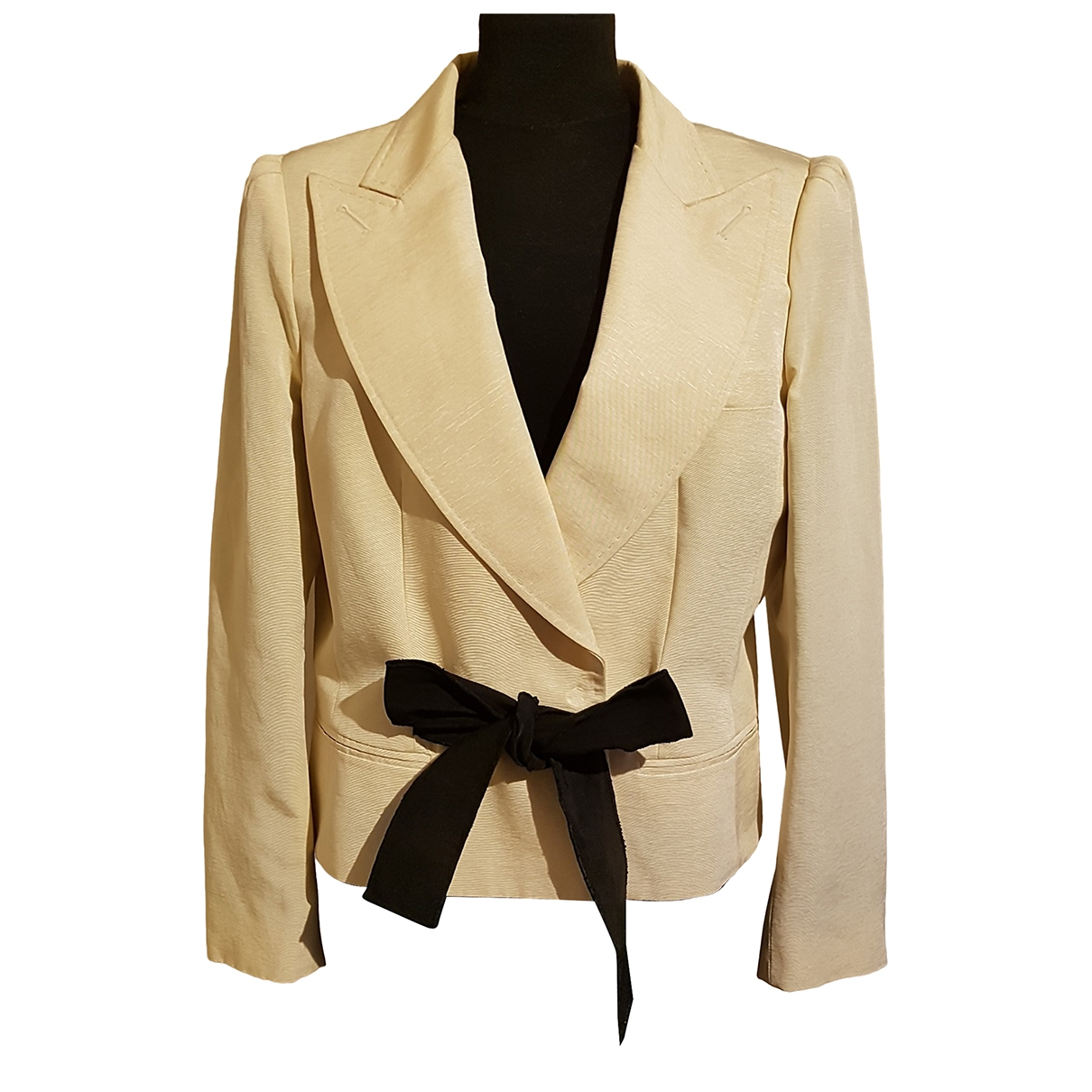 D&g \N Beige Cotton jacket for Women 42 FR