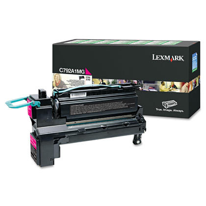 Lexmark C792A1MG Original Magenta Return Program Toner Cartridge