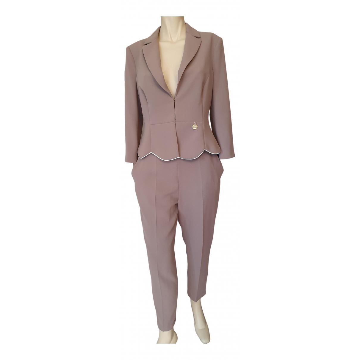 Elisabetta Franchi \N Grey dress for Women 44 IT