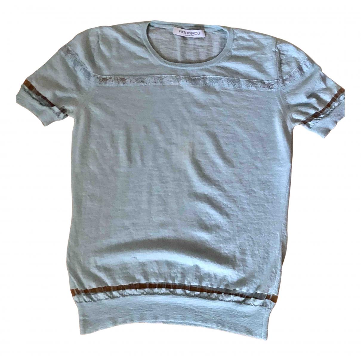 Viktor & Rolf \N Blue Cashmere Knitwear for Women S International