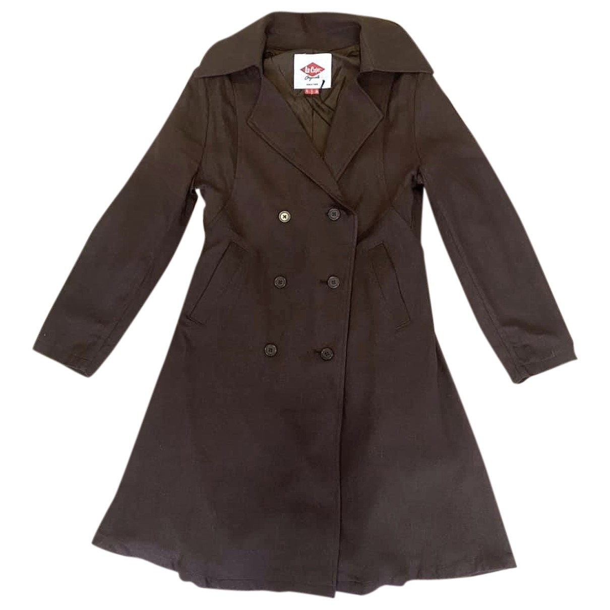 Non Signé / Unsigned \N Brown coat for Women 10 UK