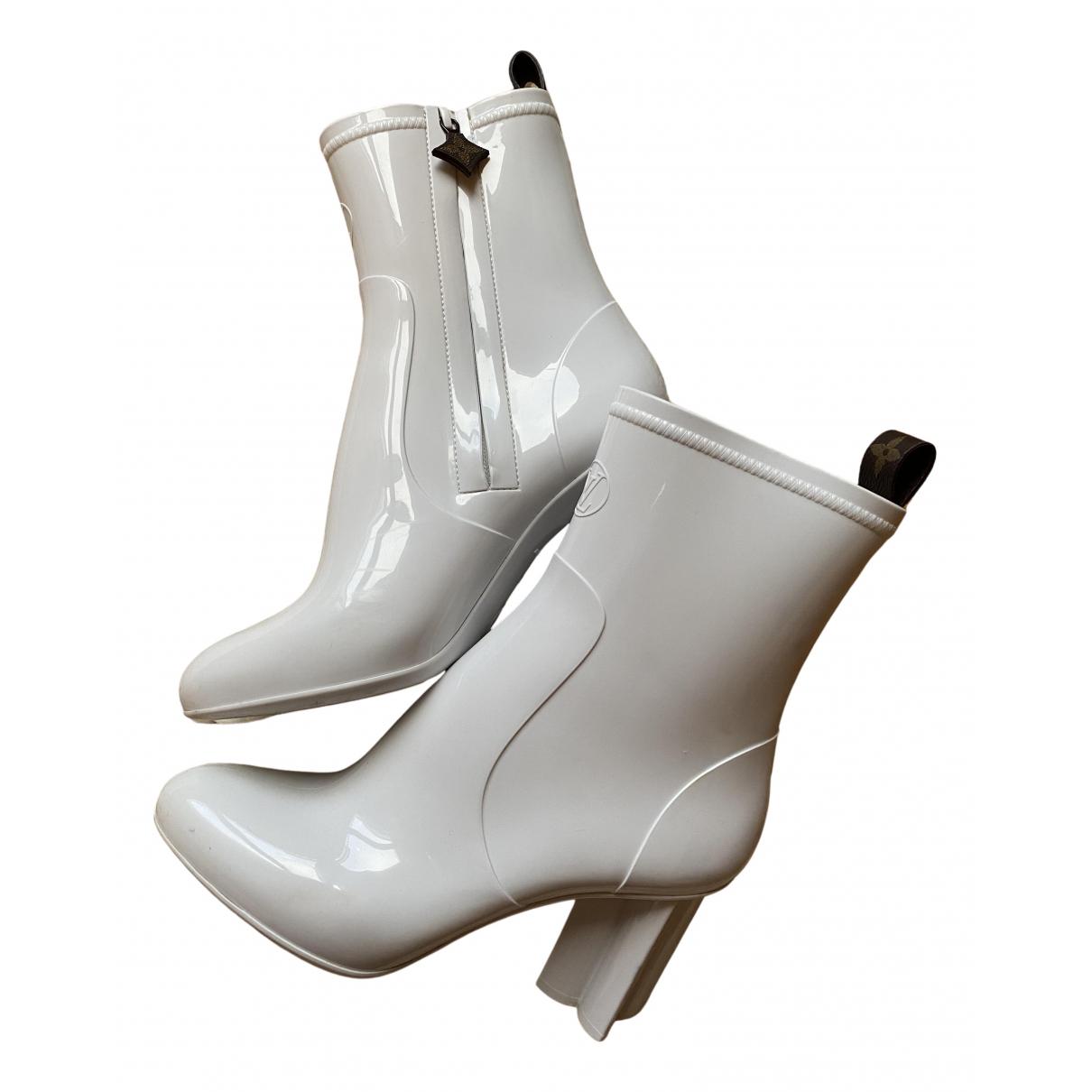 Louis Vuitton - Boots Silhouette pour femme - blanc