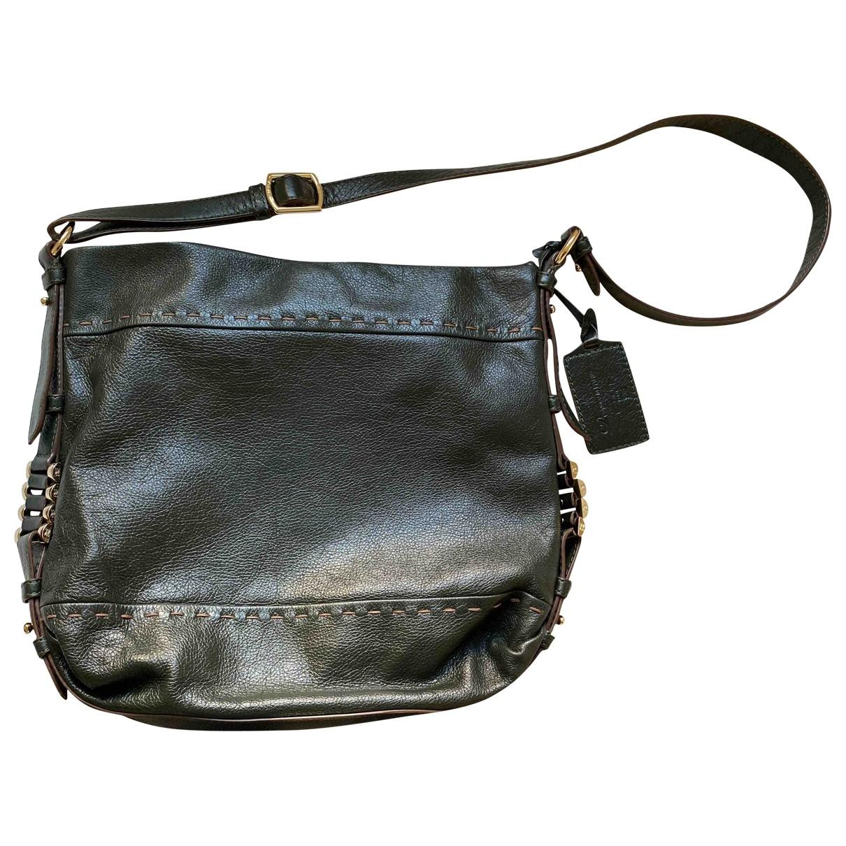 Lancel \N Green Leather handbag for Women \N