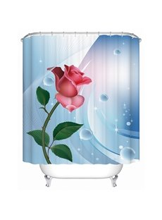 Rose 3D Shower Curtain