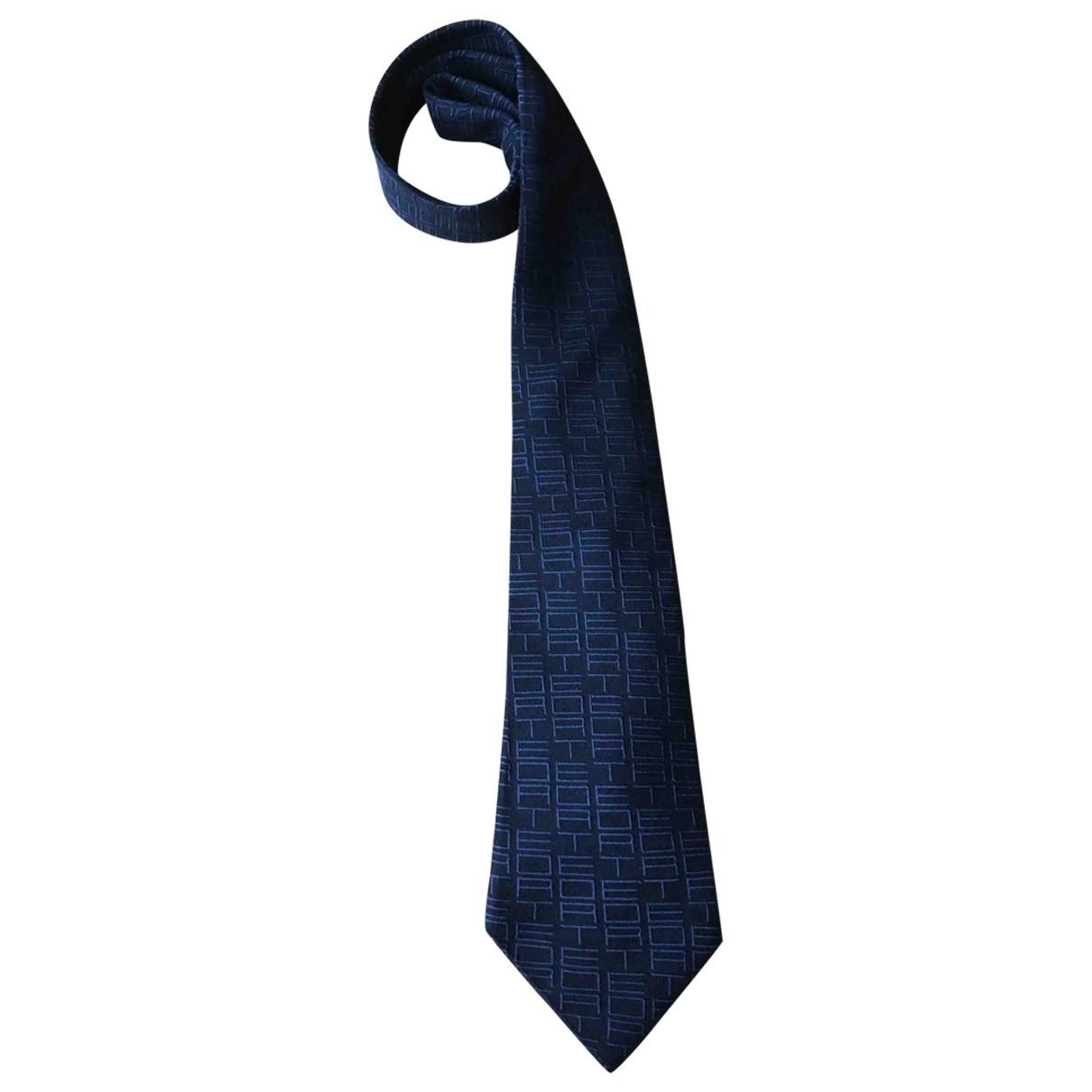 Etro - Cravates   pour homme en soie - bleu