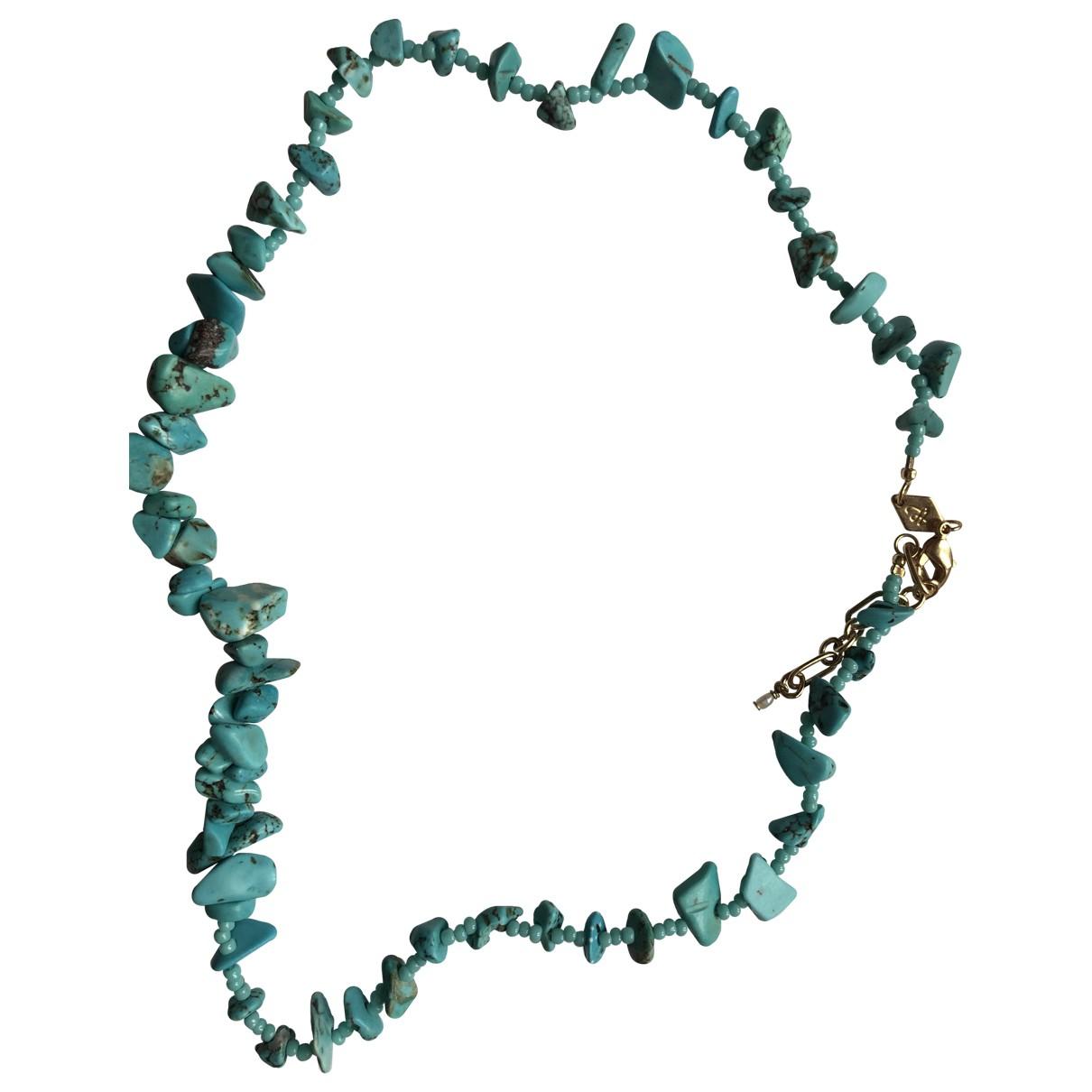 Anni Lu - Collier   pour femme en perles - turquoise