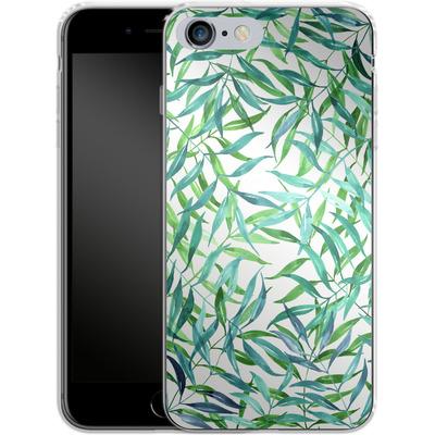 Apple iPhone 6s Plus Silikon Handyhuelle - Palm Print von Becky Starsmore