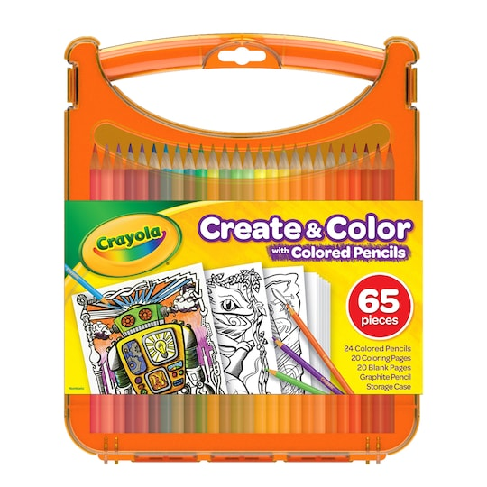 Crayola® Create & Color With Colored Pencils | Michaels®