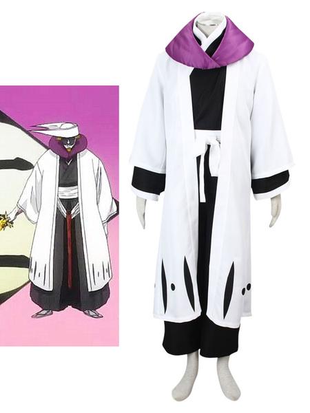 Milanoo Bleach Kurotsuchi Mayuri Halloween Cosplay Costume