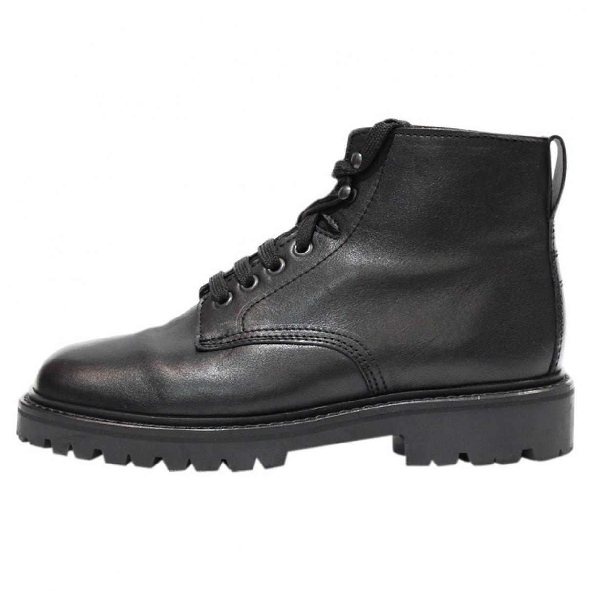 Isabel Marant \N Black Leather Boots for Men 40 EU