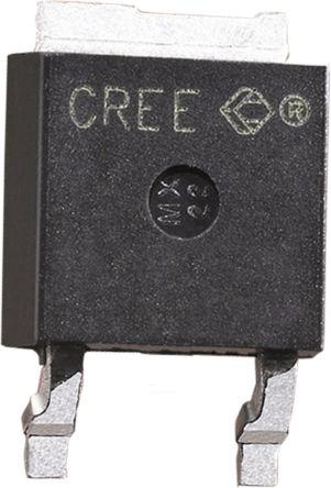 Wolfspeed 600V 2A, SiC Schottky Diode, 2-Pin DPAK CSD01060E-TR (2500)