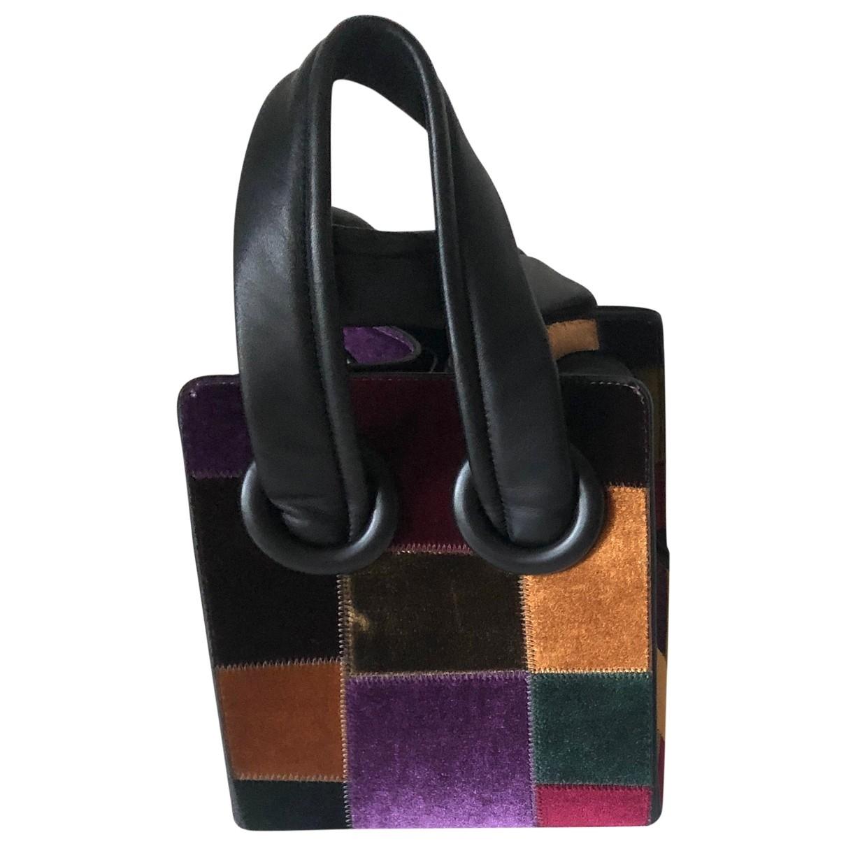 Boyy \N Multicolour Velvet handbag for Women \N