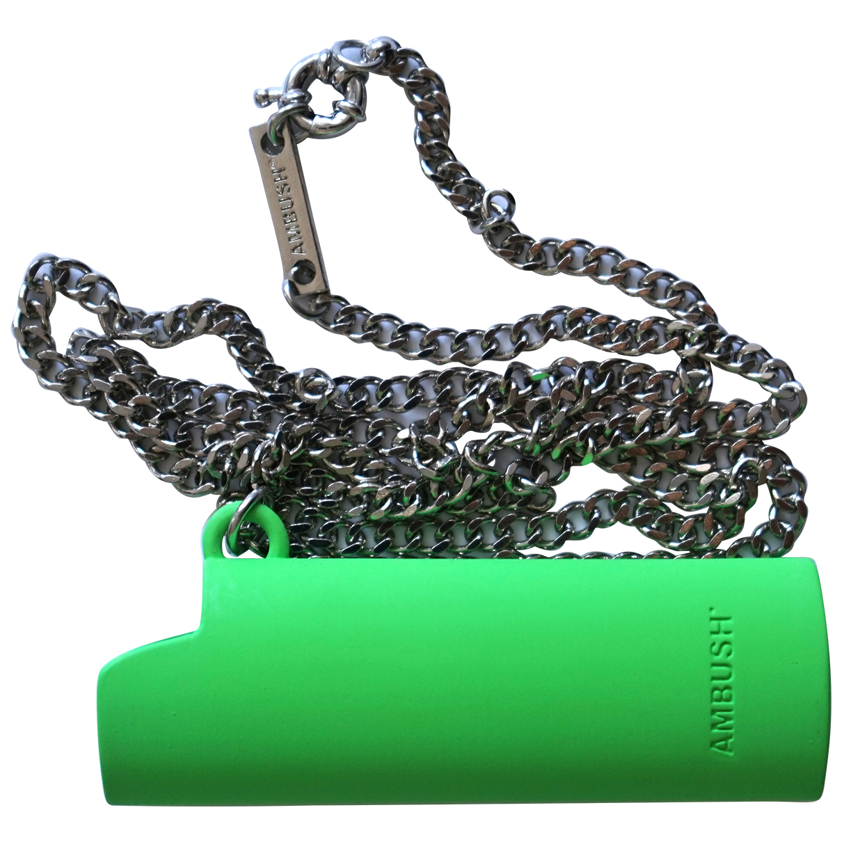Ambush N Green Silver necklace for Women N