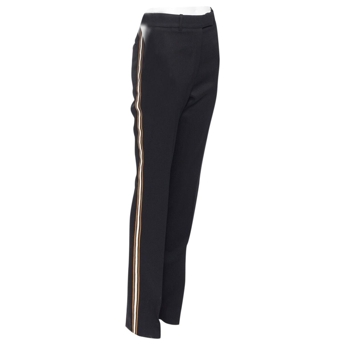 Calvin Klein \N Black Wool Trousers for Women 1 US