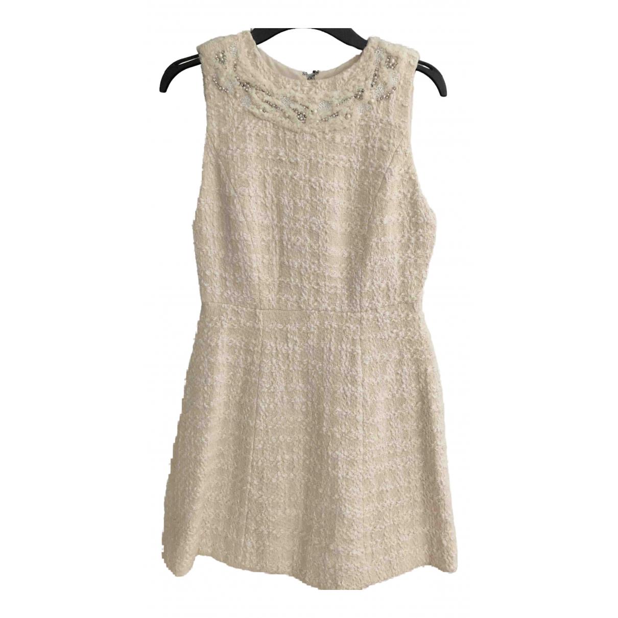 Alice & Olivia N White Cotton dress for Women 4 US