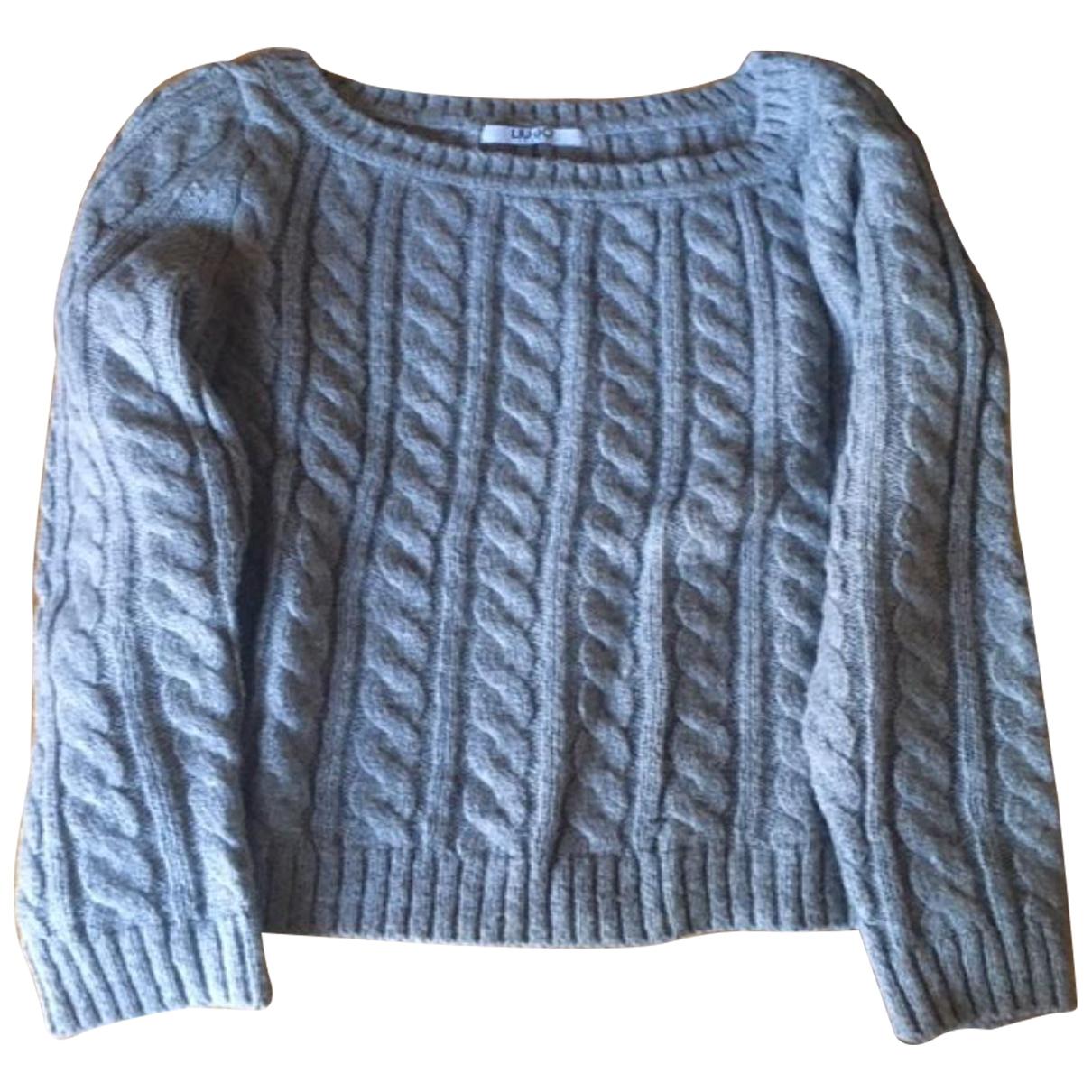 Liu.jo \N Grey Wool Knitwear for Women S International